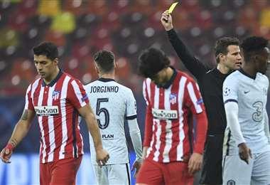 El Atlético perdió ante el Chelsea. Foto: AFP