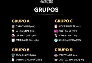 Foto: Conmebol Libertadores