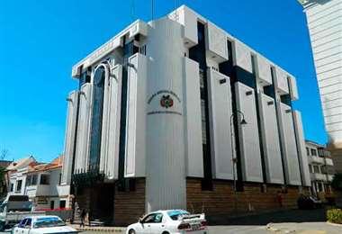 Consejo de la Magistratura en Sucre. Foto: Archivo