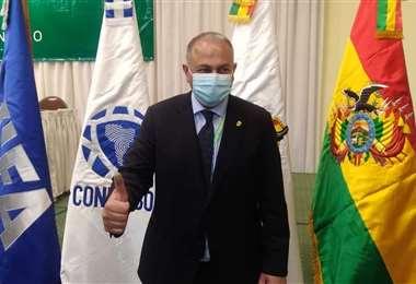 Fernando Costa, presidente de la FBF. Foto: Internet