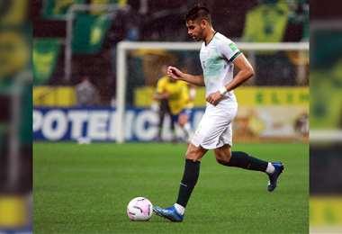José María Carrasco también es seleccionado boliviano. Foto: Internet