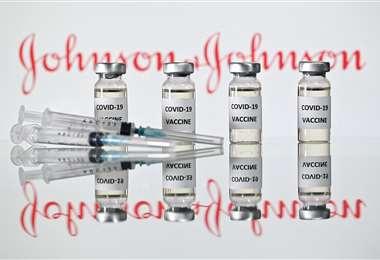 La vacuna de J&J se administra en una sola dosis. Foto AFP