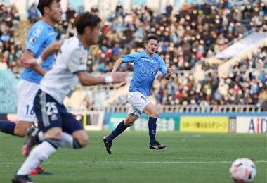 Kazuyoshi Miura sigue jugando a los 53 años. Foto: AFP