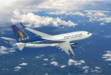 La aeronave aterrizará en Bolivia en los próximos días. Foto referencial