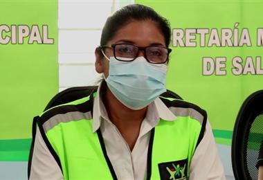 Secretaria de Salud, Marisabel Vaca
