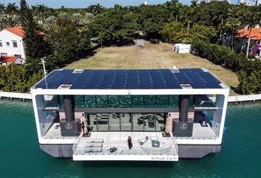 La lujosa villa flotante creada por Arkup, y valorada en 5,5 millones de dólares