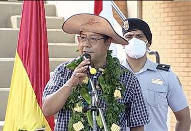 El presidente en Chuquisaca I ABI.