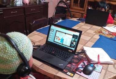 La educación a distancia y el teletrabajo demanda una mejor conexión (Foto: Unicef)