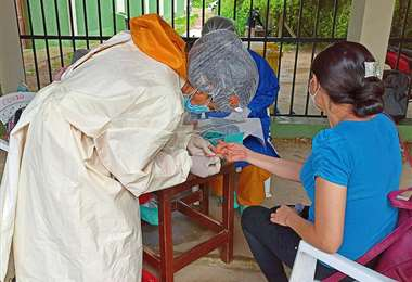 Tarija está alistando la vacunación masiva a la población. Foto: Archivo