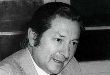 Edgar Peña Gutiérrez presidió la FBF de 1978 a 1986. Foto: internet