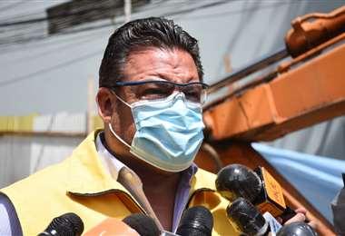 El alcalde de La Paz, Luis Revilla I AMN.