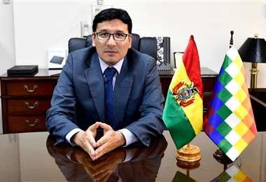 Franklin Molina, ministro de Hidrocarburos
