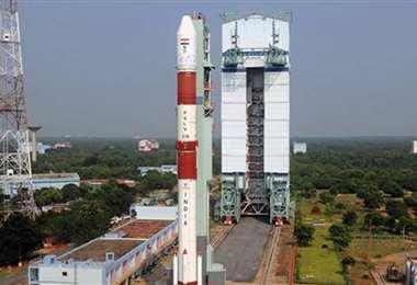 El lanzamiento se lo realizó desde India. Foto. globo.com