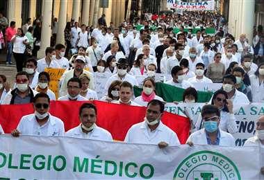 El CONASA prioriza la vacunación sin relegar la protesta. Foto: Internet