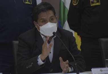 El ministro de Salud I APG Noticias.