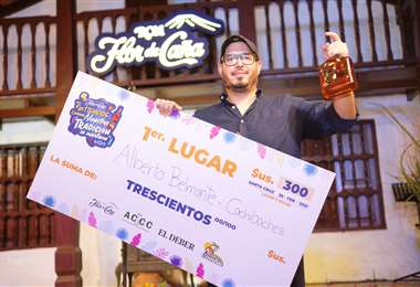 Alberto Belmonte fue el ganador del Torneo de Coctelería