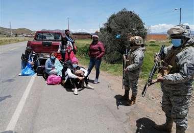 Los venezolanos detenidos I Armada.