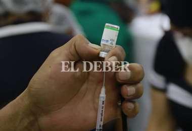 Vacuna anticovid/Foto: Juan Carlos Torrejón