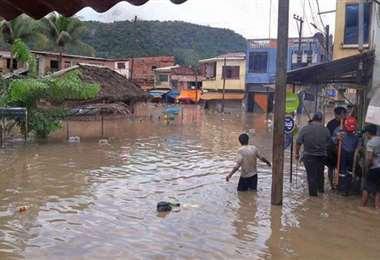 Los afectados recibirán ayuda sanitaria y alimentos. Foto: ABI