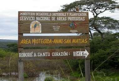 El AMNI San Matías resguarda la biodiversidad de zona pantanosa nacional