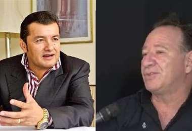 Fernández (izq.) y Cirpolo (der.) fueron denunciados este miércoles
