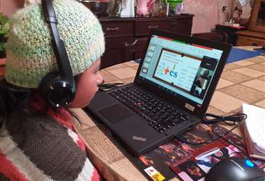 Clases virtuales en Bolivia
