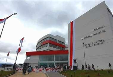 El hospital Materno Infantil entrará en funcionamiento en los próximos días