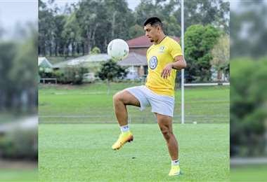 Emanuel Ponce, ex jugador de San José. Foto: Facebbok