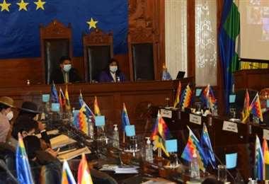 El pleno del Senado aprobó, en su estación en grande, el proyecto de le