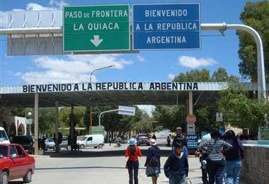 El paso fronterizo está cerrado hace siete días/Foto