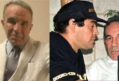 Alfredo Cahe, histórico médico que tuvo Maradona. Foto: internet