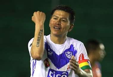 Saucedo es el máximo goleador de San José con 162 goles. Foto: El Deber