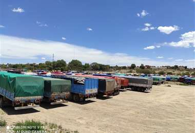Los camiones ya tienen expedito el paso en el tramo Villazón- La Quiaca