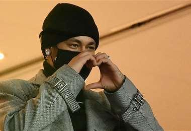 Neymar, estrella del PSG. Foto: AFP