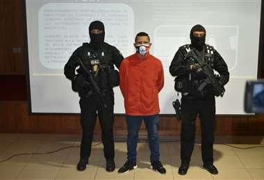 Ítalo Concepción fue recapturado