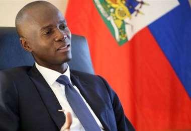 El presidente haitiano Jovenel Moise