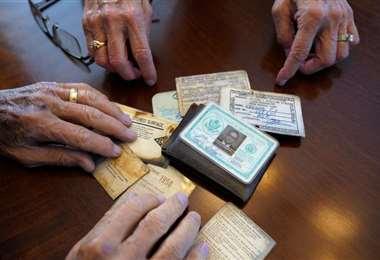 Billetera perdida en 1968