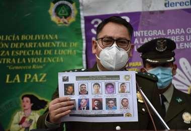 El comandante dela Policía I Gobierno.