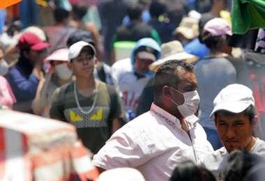 El Sedes pide a la población no relajarse/Foto: EL DEBER