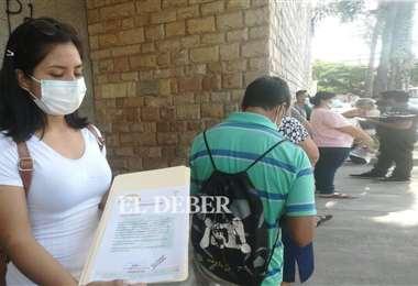 Las personas pueden excusarse en las oficinas del Órgano Electoral. Foto: Juan Delgadillo