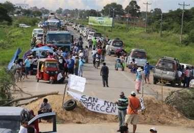 Productores bloquearan carreteras si sus demandas no son atendidas
