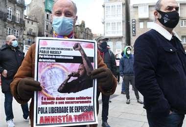 Protestas en defensa de Pablo Hásel