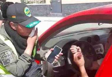 El altercado registrado en Potosí I captura.