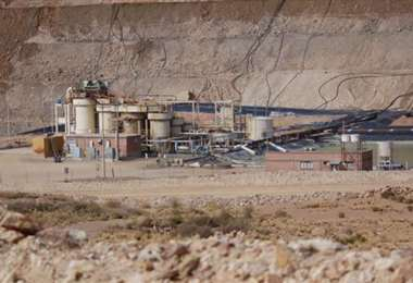 La empresa minera I Brújula Digital.