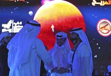"""La sonda emiratí """"Esperanza"""" se puso en órbita de Marte"""