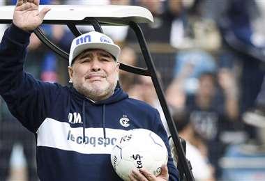 Diego Maradona falleció en noviembre del año pasado. Foto: internet
