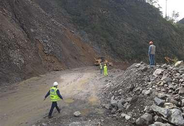 La época de lluvias causa problemas en los Yungas (Foto: ABC)