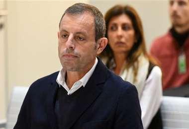 Sandro Rosell, ex presidente del club Barcelona. Foto: internet
