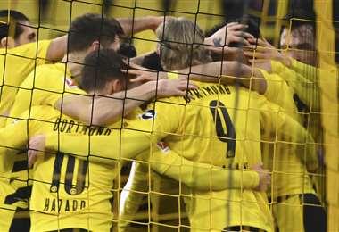 Borussia Dortmund entrará en acción este martes. Foto: AFP