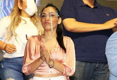 Adriana Salvatierra, foto referencial